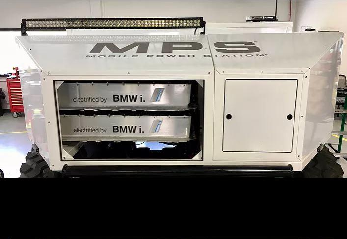 BMW i3 batteries to power MPS