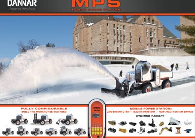 DANNAR 400 options snow blow college