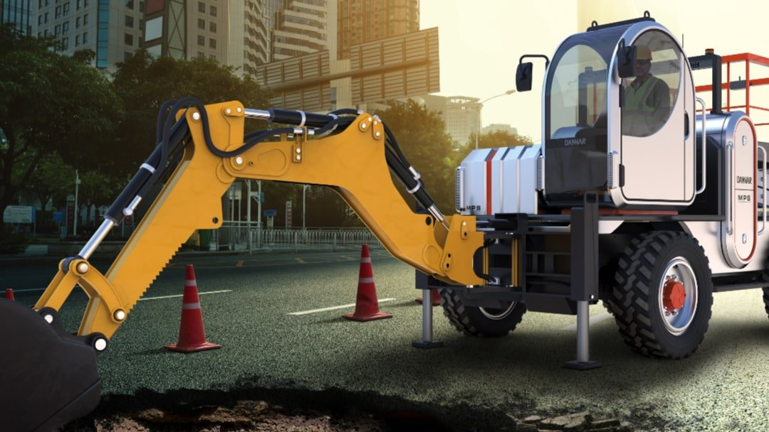 DANNAR Backhoe City Infrastructure
