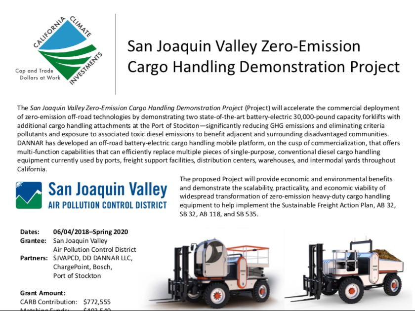 DANNAR & The First Annual Low Carbon Transportation Heavy-Duty Showcase