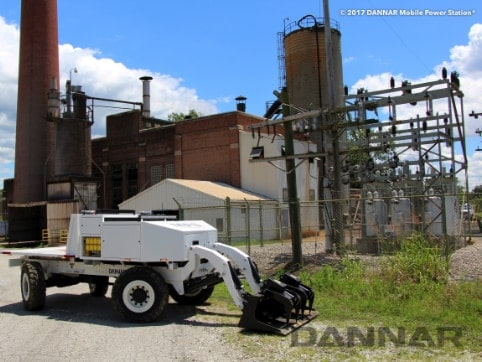 DANNAR-300-Mobile-Power-Station-in-front-of-factory