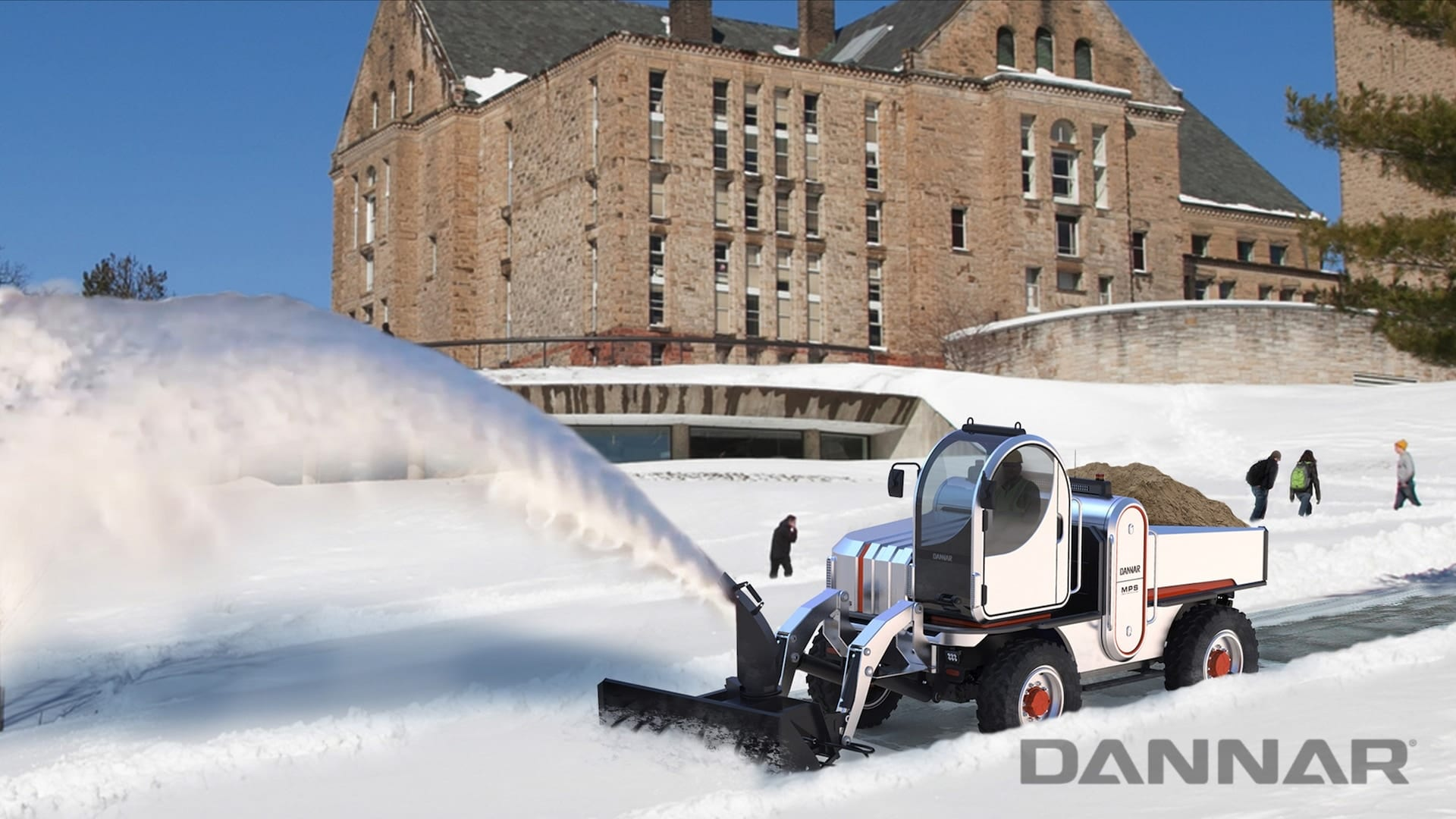 DANNAR MPS 400 Revolutionary Work Vehicle All Season