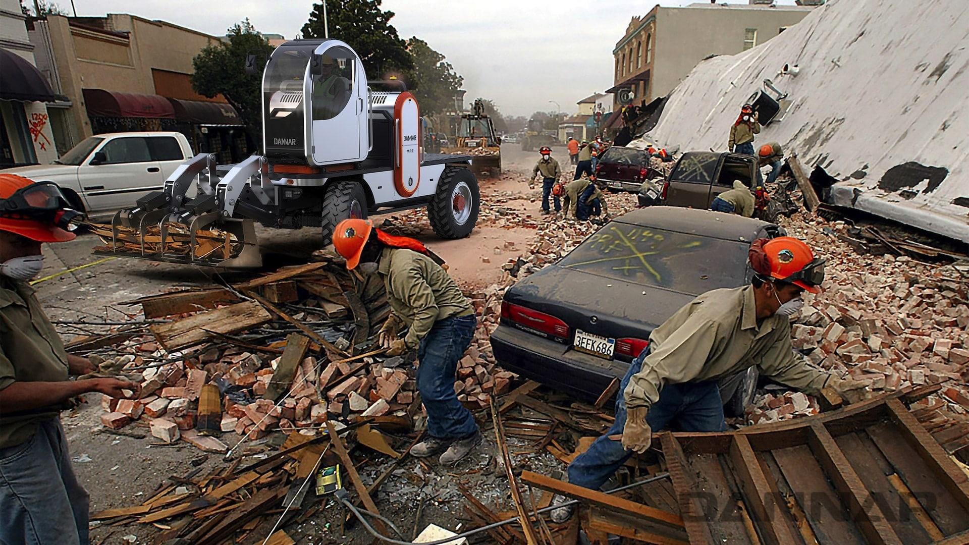 DANNAR MPS 400 Revolutionary Work Vehicle Crisis Response
