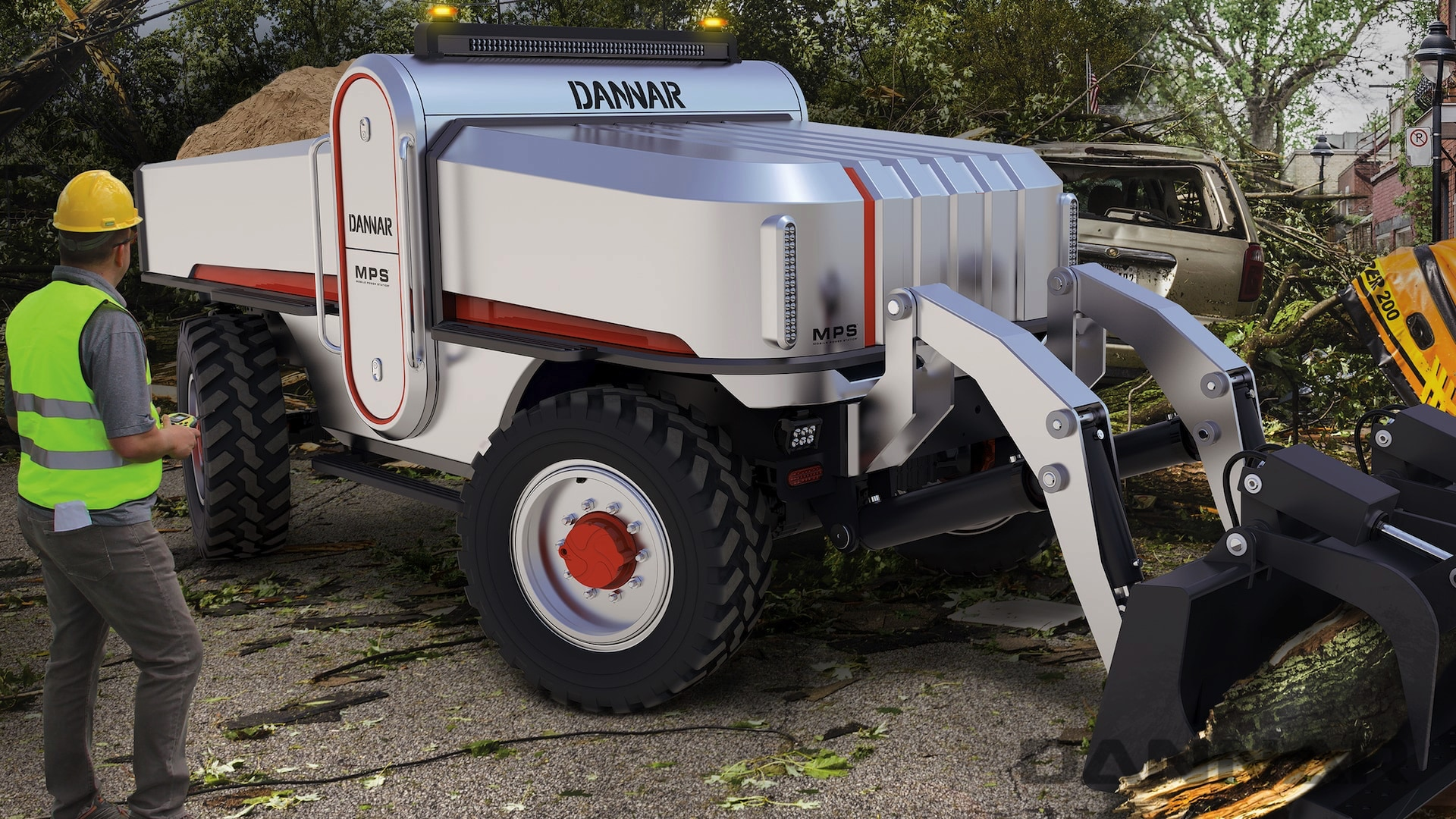 DANNAR MPS 400 Revolutionary Work Vehicle Disaster Relief