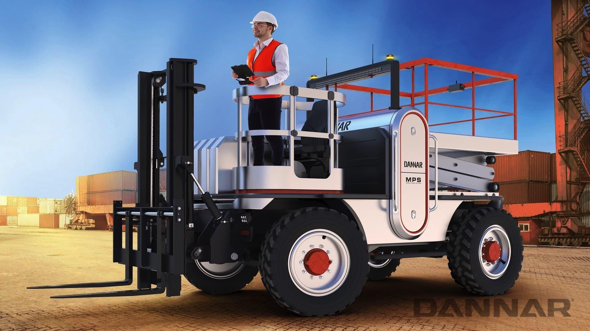 DANNAR MPS 400 Revolutionary Work Vehicle Ports
