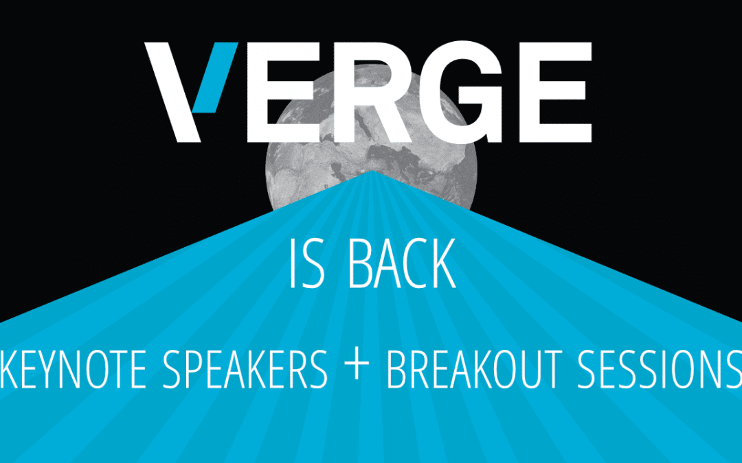 VERGE Keynote Speeches Now Online